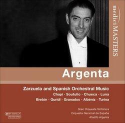 Zarzuela & Spanish Orchestral Music