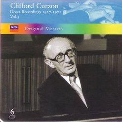 Clifford Curzon: Decca Recordings, 1937-1971, Vol. 3 [Box Set]
