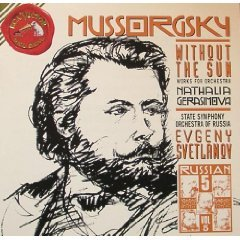 Mussorgsky: Without the Sun; Works for Orchestra