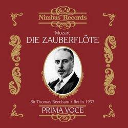 Mozart: Die Zauberflote (The Magic Flute - Prima Voce Series) / Beecham, Strienz et al