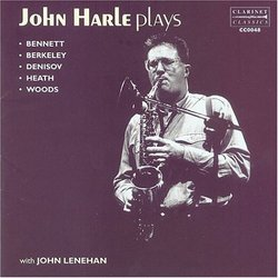 John Harle Plays
