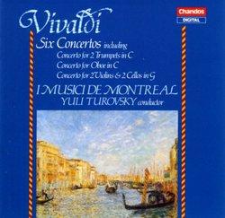 Vivaldi: Six Concertos / Turovsky