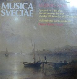 "Norman: Symphony No. 2, Op. 40; Uverty till ""Antonius and Cleopatra"", Op. 57; Andante sostenuto e cantabile ur Strakkvartett i a-moll, Op.. 65"