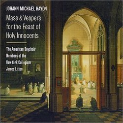 Johann Michael Haydn:  Mass & Vespers for the Feast of the Holy Innocents