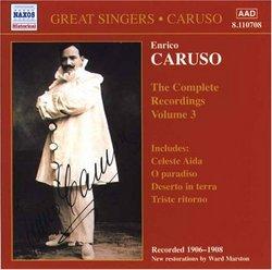 Enrico Caruso: The Complete Recordings, Vol. 3