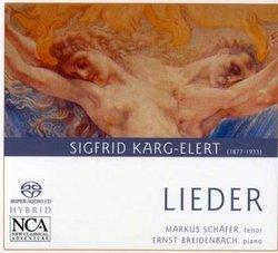 Sigfrid Karg-Elert-Lieder