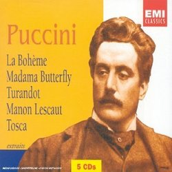 Puccini: La Bohème; Madama Butterfly; Turandot; Manon Lescaut; Tosca (Highlights) [Box Set]