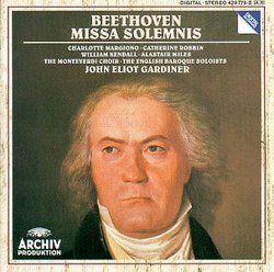 Beethoven - Missa Solemnis / Margiono Robbin Kendall Miles (Archiv)