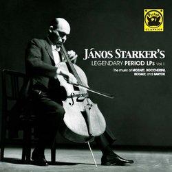 Janos Starker's Legendary Period LPs, Vol. 1
