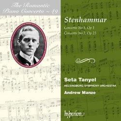 Stenhammar: Piano Concertos Nos. 1 & 2 -Romantic Piano Concerto vol. 49