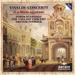 """Vivaldi: Violin Concertos, Op.4 """"La Stravaganza"""" / Pinnock (2CDs)"""