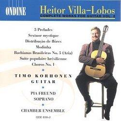 Villa-Lobos: Complete Works for Guitar, Vol.2