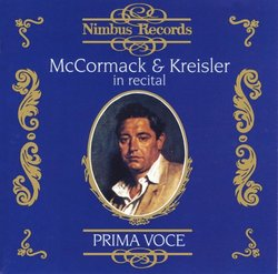McCormack & Kreisler in Recital