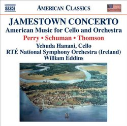 Jamestown Concerto - American Music for Cello and Orchestra