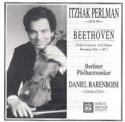 Beethoven Violin Concerto in D Major(Op. 61), Romance 1 & 2(Opp. 40 & 50)