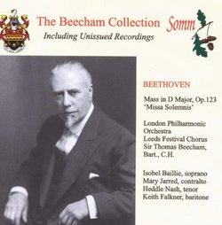Sir Thomas Beecham Collection