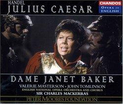 Handel - Julius Caesar / Dame Janet Baker · Masterson · S. Walker · D. Jones · J. Bowman · Booth-Jones · Thomlinson · D. James · ENO · Mackerras