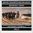 """Arturo Benedetti-Michelangeli Plays Beethoven & Chopin (Concerto for Piano and Orchestra No. 5 """"Emperor""""/Piano Sonata No. 2/Ballade No. 1)"""