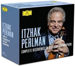 Itzhak Perlman: Complete Recordings On Deutsche Grammophon [25 CDs][Ltd. Edition]