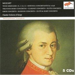 Mozart: Wind Serenades & Concertos [Box Set]