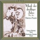 Oboe and Piano Music from the 1930s