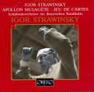 Stravinsky: Apollo; Jeu de cartes
