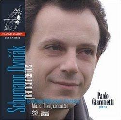 """Schumann, Dvorak: """"Piano Concertos"""""""