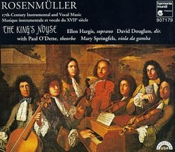Rosenmuller: 17th Century Instrumental and Vocal Music /Hargis * The King's Noyse * Douglass