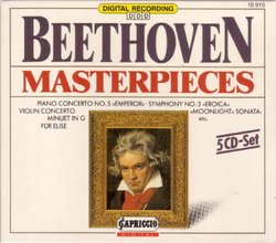 Beethoven Masterpieces (Box Set)