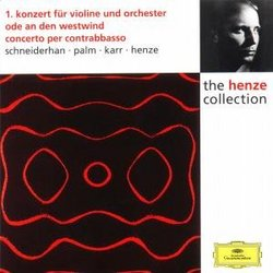 Henze: Violin Concerto No. 1; Ode to the West Wind; Concerto for Double Bass