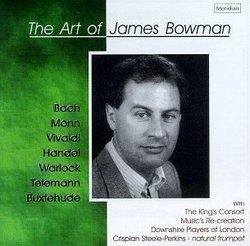 Baroque Countertenor Arias - The Art Of James Bowman