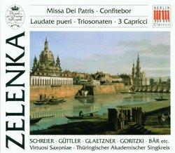 Zelenka: Missa Dei Patris/Confitebor/Laudate pueri/6 Trio Sonatas/3 Capricci--Virtuosi Saxoniae, Ludwig Guettler (4-CD Box Set)