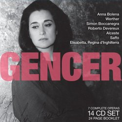 Legendary Performances of Gencer [Box Set]