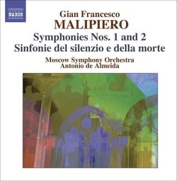 Gian Francesco Malipiero, Vol. 2: Symphonies Nos. 1 & 2