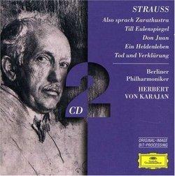 Strauss: Also sprach Zarathustra; Till Eulenspiegel; Don Juan; etc. [Germany]