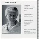Irwin Bazelon: Symphony No. 7; Symphony No. 9