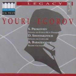 Prokofiev: Piano Sonata No. 8 / Shostakovich: Piano Sonata No 2 / Babadjanian: Scenes for Piano