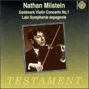 Goldmark: Violin Concerto no 1; Lalo: Symphonie espagnole in Dm