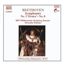 Beethoven: Symphonies Nos. 3 And 8