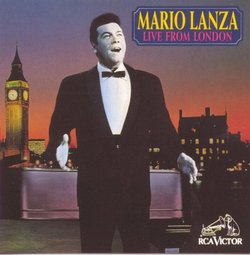 Mario Lanza Live from London