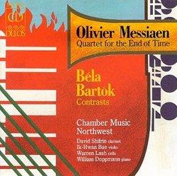 Olivier Messiaen: Quartet for the End of Time; Bartók: Contrasts