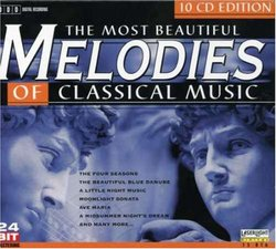 The Most Beautiful Melodies of Classical Music, Vol. 1-10 (Box Set)