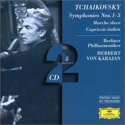 Tchaikovsky: Symphonies 1-3, Marche Slave, Capriccio Italian