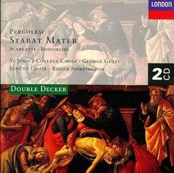 Stabat Mater: Pergolesi; Scarlatti...