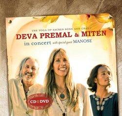 Deva Premal & Miten in Concert (1CD + 1DVD)