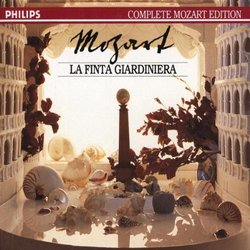 Mozart - La finta giardiniera / Conwell · di Cesare · T. Moser · Sukis · Fassbaender · Ihloff · McDaniel · Orch Mozarteum Salzburg · L. Hager