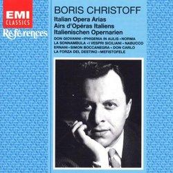 Boris Christoff: Italian Opera Arias