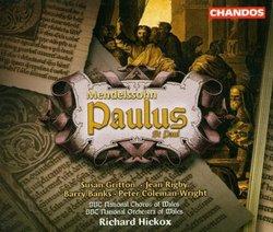 Mendelssohn - Paulus / Gritton · Rigby · Banks · Coleman-Wright · BBC · Hickox