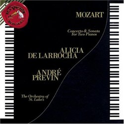 Mozart: Concerto for Two Pianos; Sonata for Two Pianos, K448