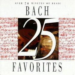 25 Bach Favorites